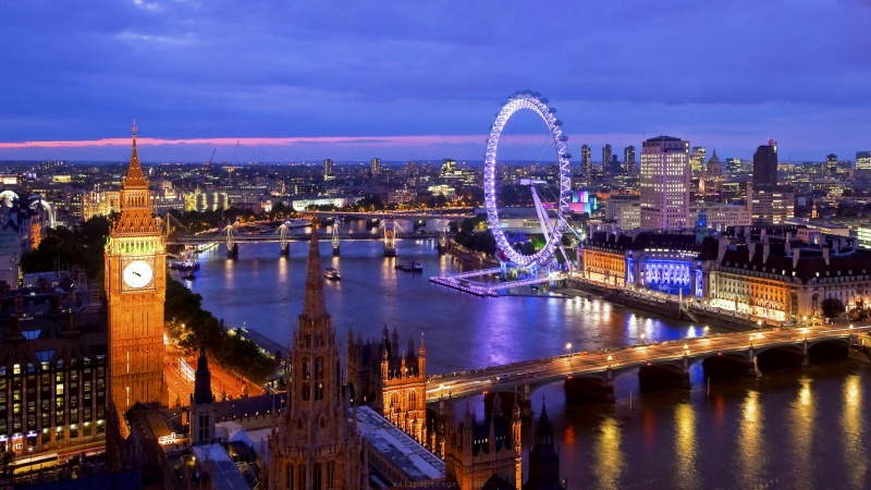 England: Country influenced by the world with its Language, Culture, Life