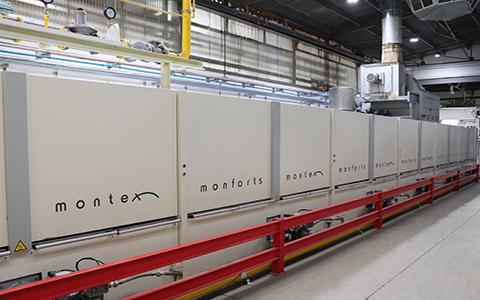 Monforts'tan İspanyol Firmaya Yeni Montex Ram Hattı