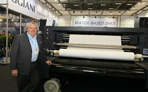 EFI Reggiani Launched Its Digital Printing Machine at ITM 2018