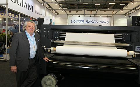 EFI Reggiani Dijital Baskı Makinesinin Lansmanını ITM 2018'de Yaptı