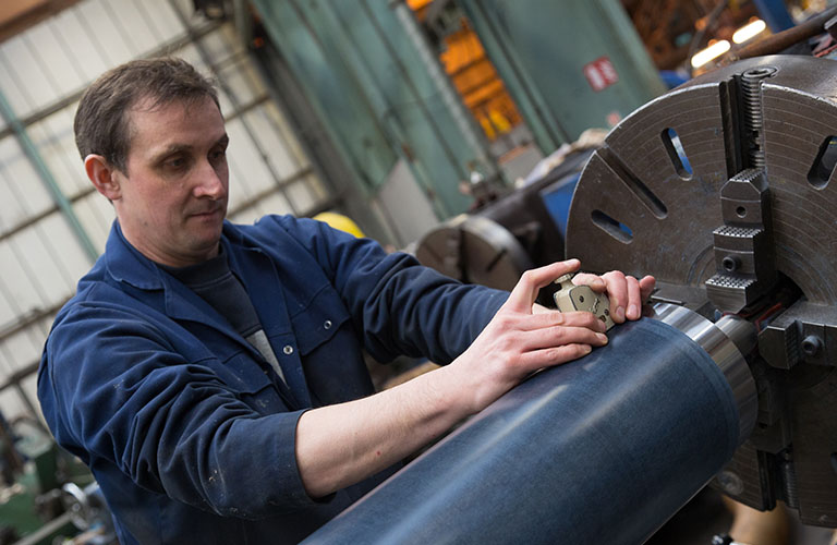 Richard Hough: The Best British Quality in Calendering and Squeezing Rollers