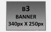 B3- Banner 340px X 250px