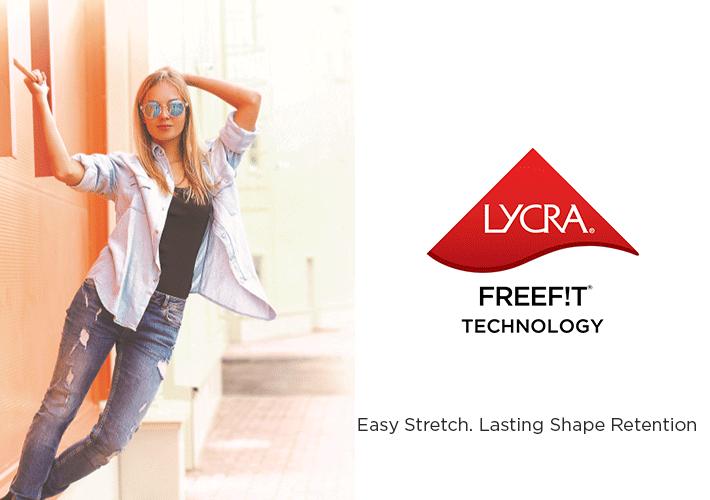Denim ve Dokuma Kumaşlar İçin Yeni Patentli LYCRA® FREEF! T® Teknolojisi
