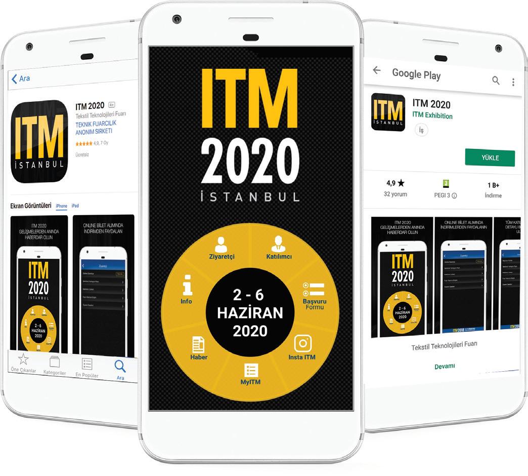 ITM 2020 Fuarı'na Başvurunun Hızlı ve Kolay Yolu: ITM 2020 Uygulaması