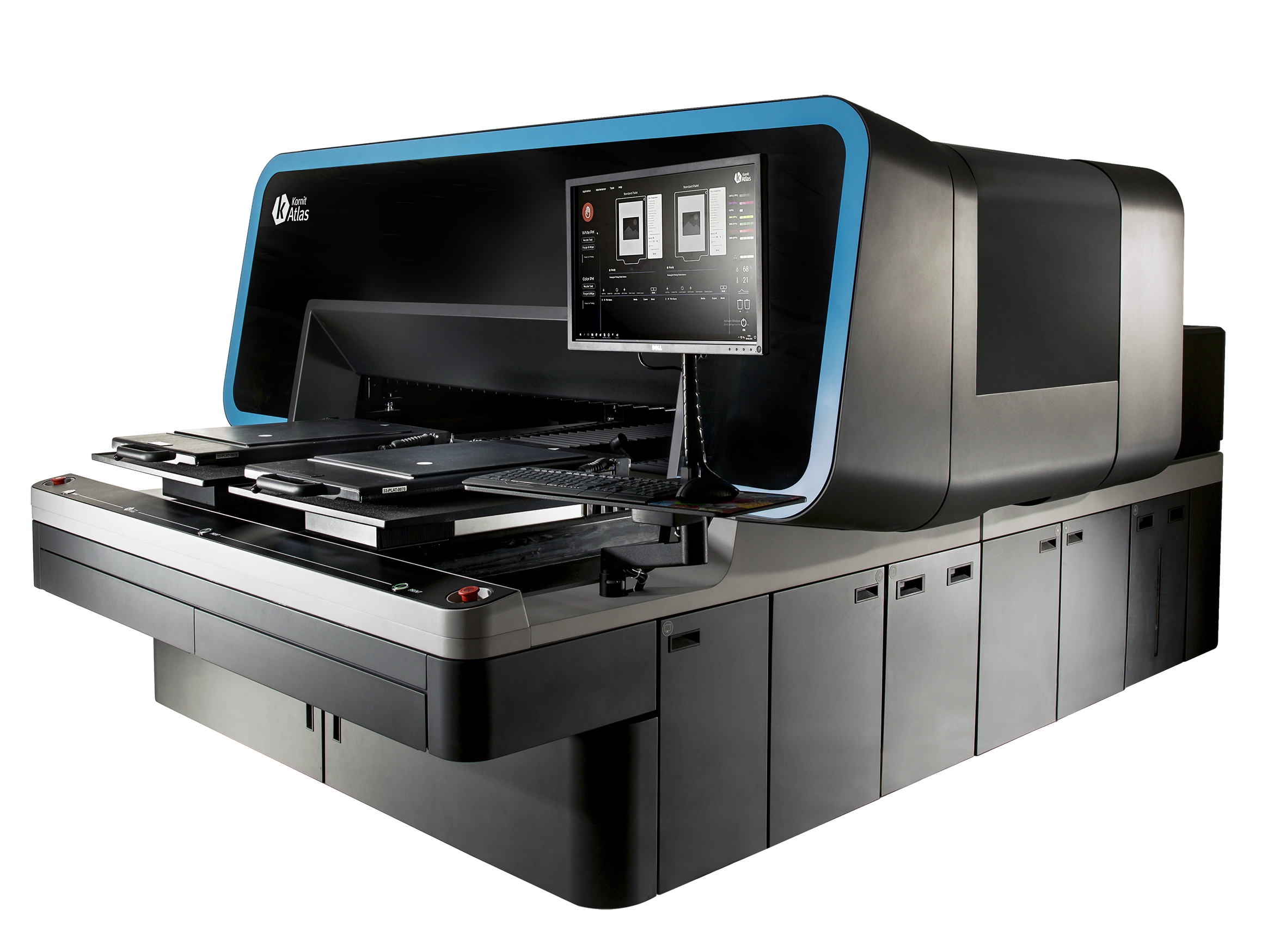 Kornit Digital launches the Atlas, the super-industrial, next-generation direct-to-garment printing platform