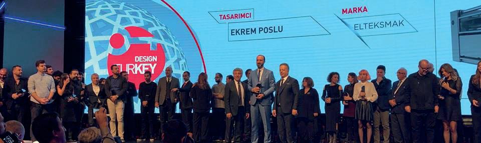 Elteksmak'ın Tasarımlarına Design Turkey 2018'de İki Ödül