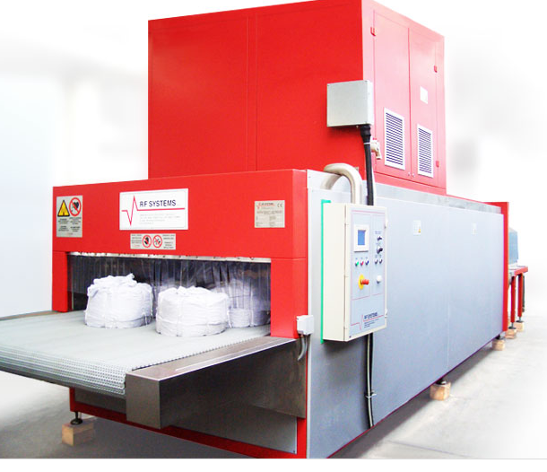 RF Systems : The Most Efficient and Delicate Way to Dry the Textile Fibers