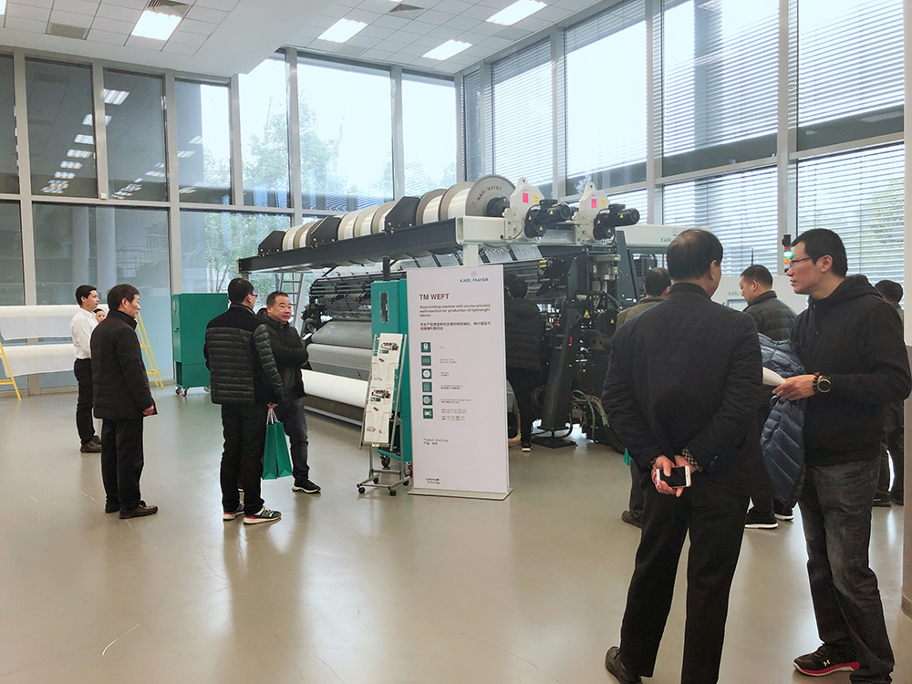 The TM WEFT Is Launched Successfully In China