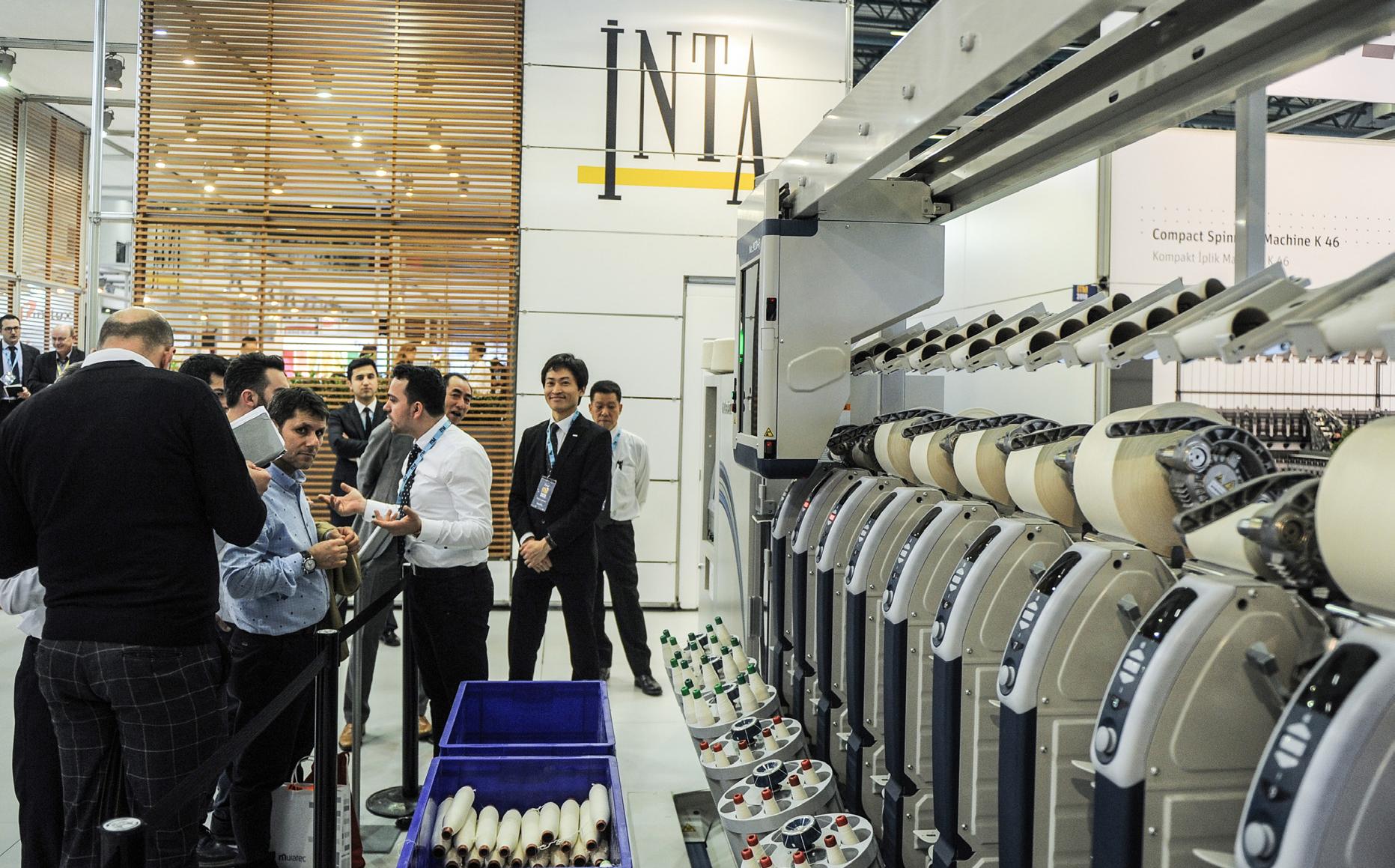 İnta Makina, Tüm Mümessillikleriyle Birlikte İplik Sektörüne Katkıda Bulunuyor