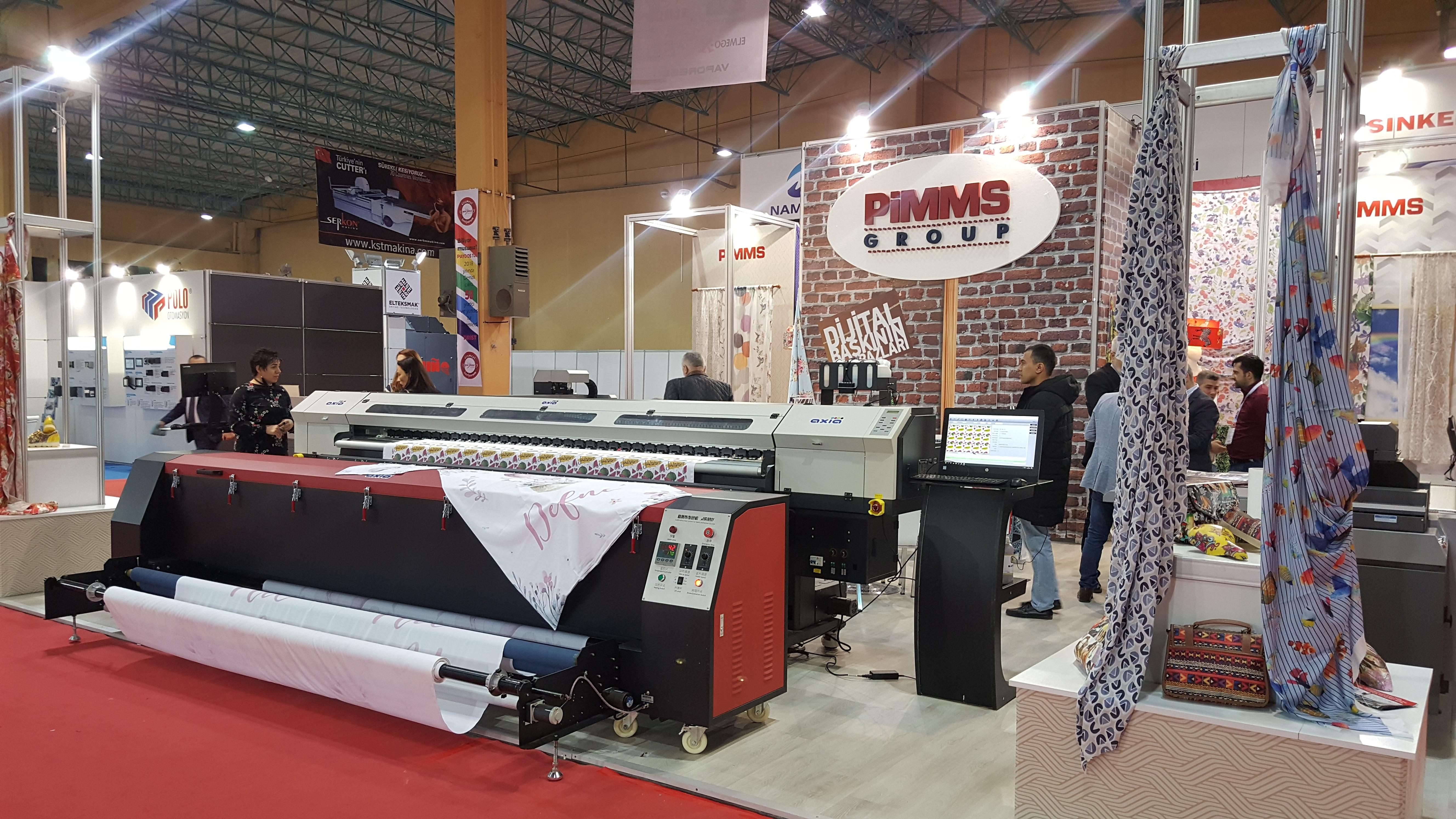 PİMMS Group Denizli'de Tekstil Baskı Şovu Yaptı