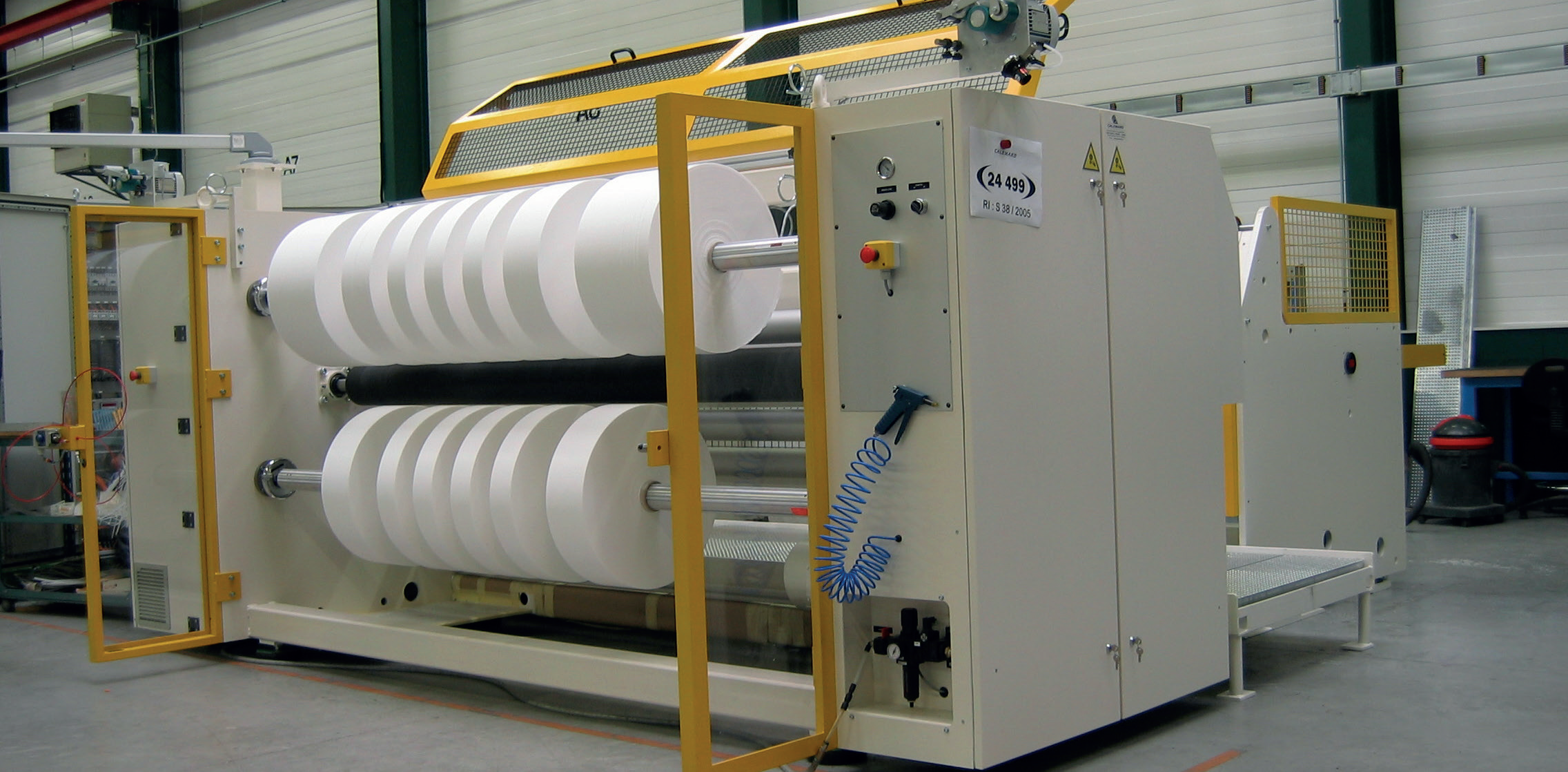 Spoolex: Address for Innovative Technologies for Tension Sensitive Materials