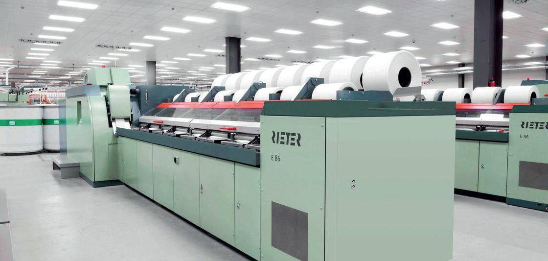 Rieter'in 2018 Yılında Toplam Satışları Yükseldi