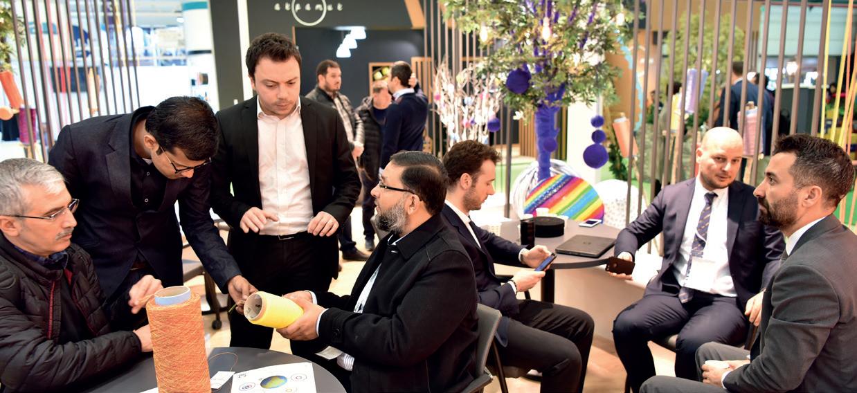 Intense Interest in Eurasia's Largest Yarn Fair