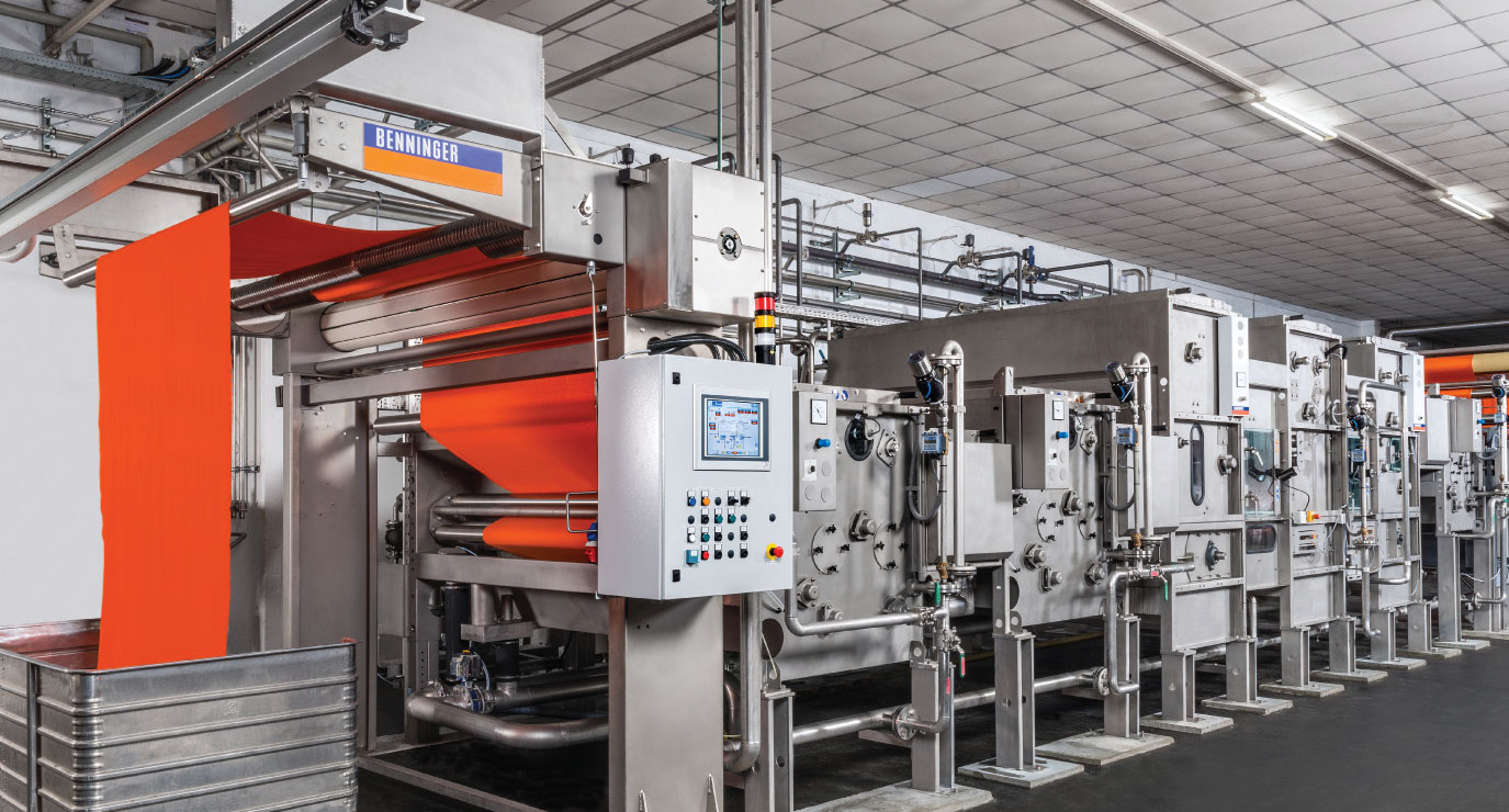 Benninger: High Quality Textile Machines for Optimising Processes