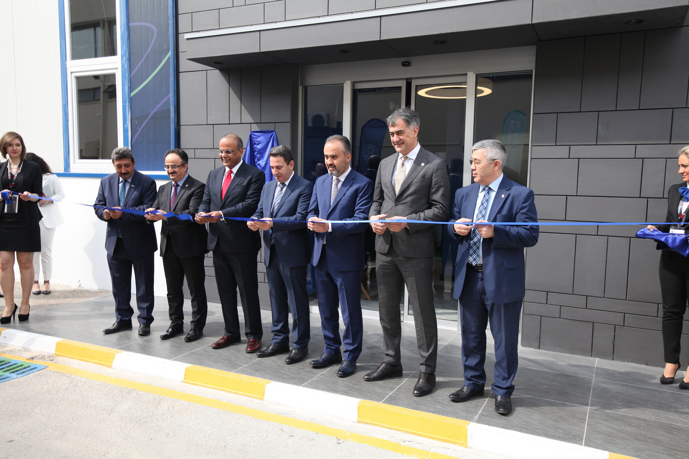 World's Leading Yarn Manufacturer Coats Celebrates Its 50th Anniversary with the Opening of the Innovation Center in Bursa