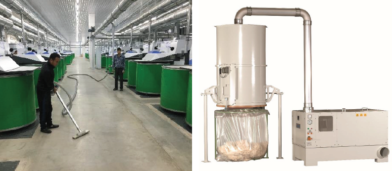 Steinemann: Profitable Solution in Central Vacuum Systems