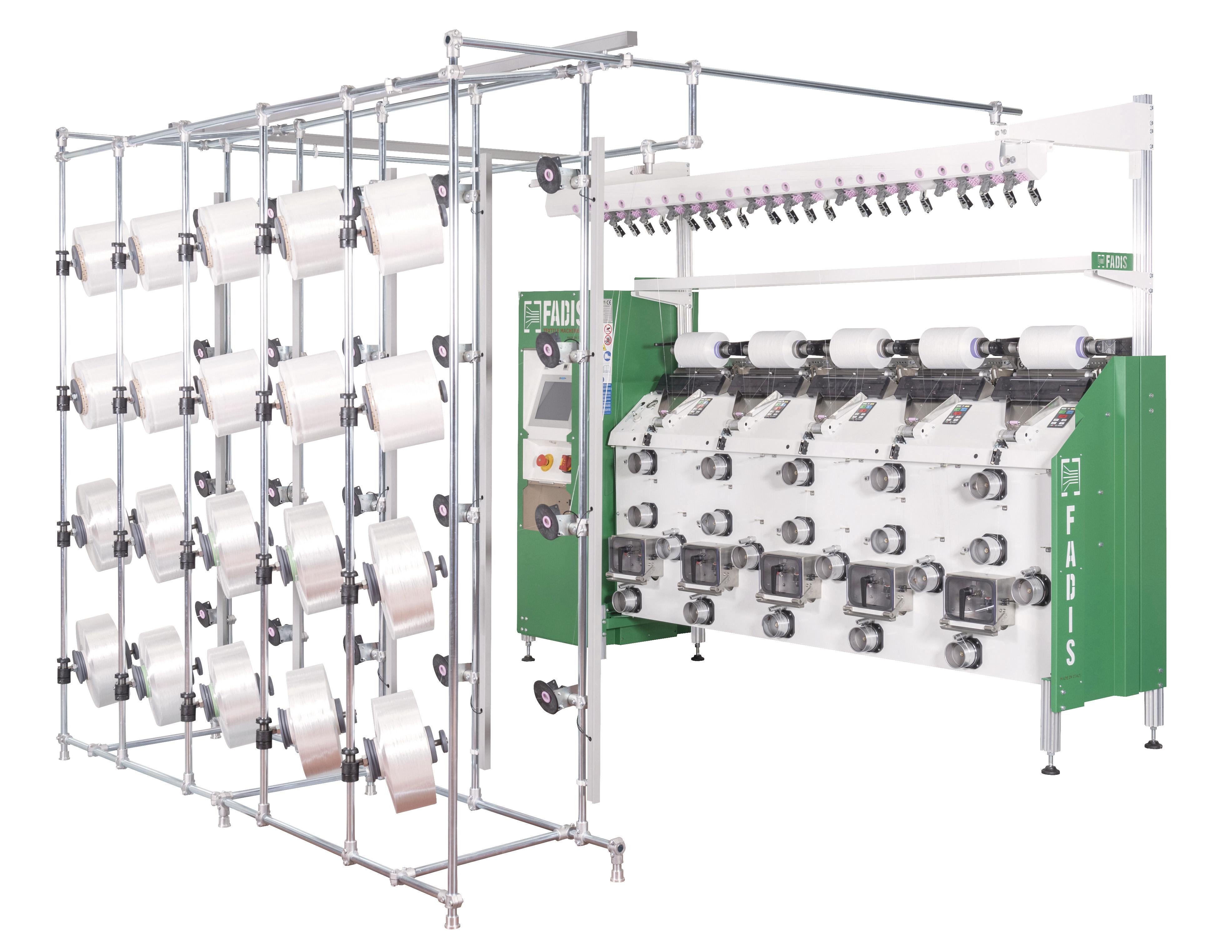 Fadis Air Texturing Machine: Sincro Multipla Aquajet