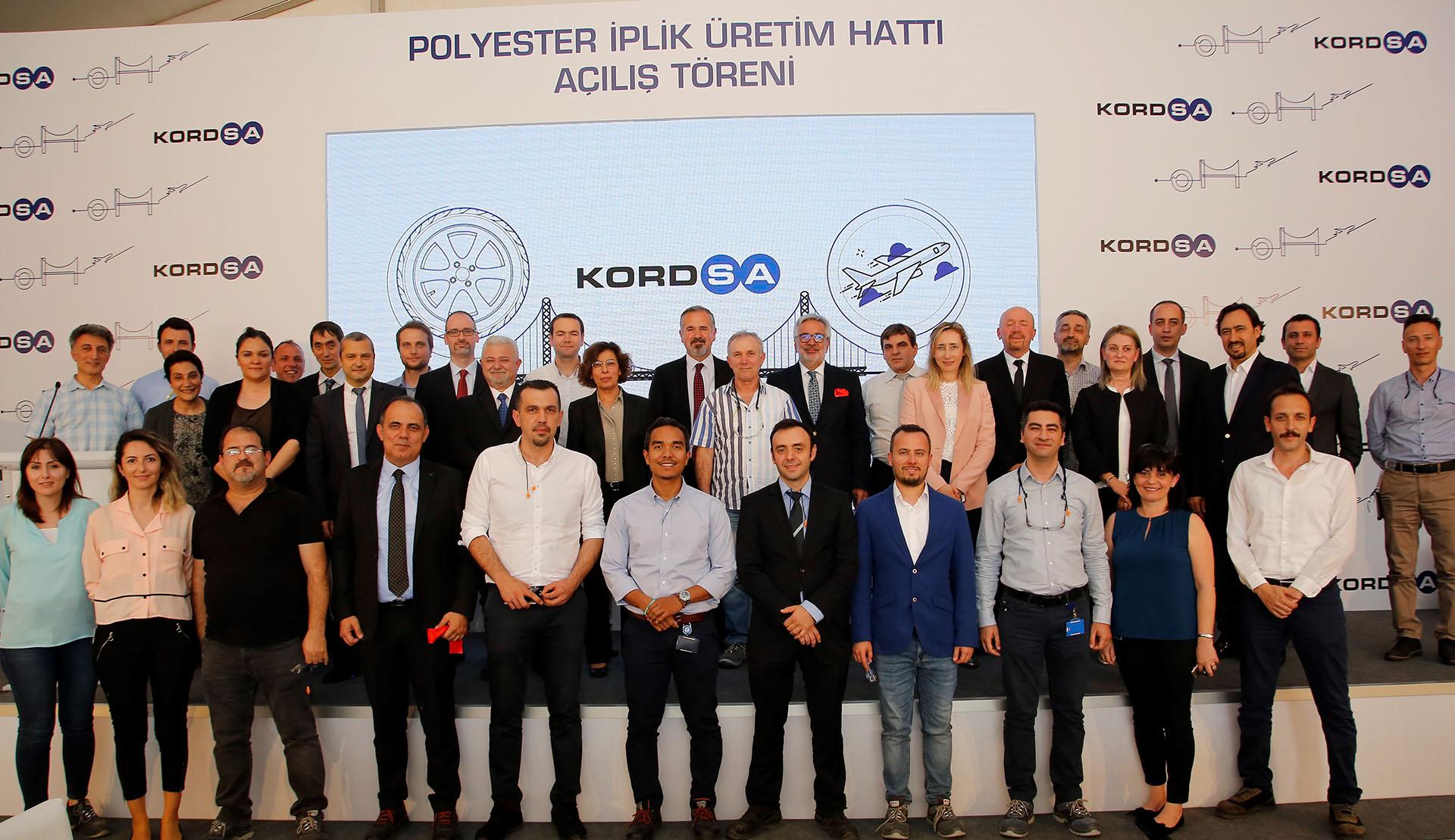 Kordsa'dan 100 Milyon Liralık Yeni Ek Polyester İplik Hattı
