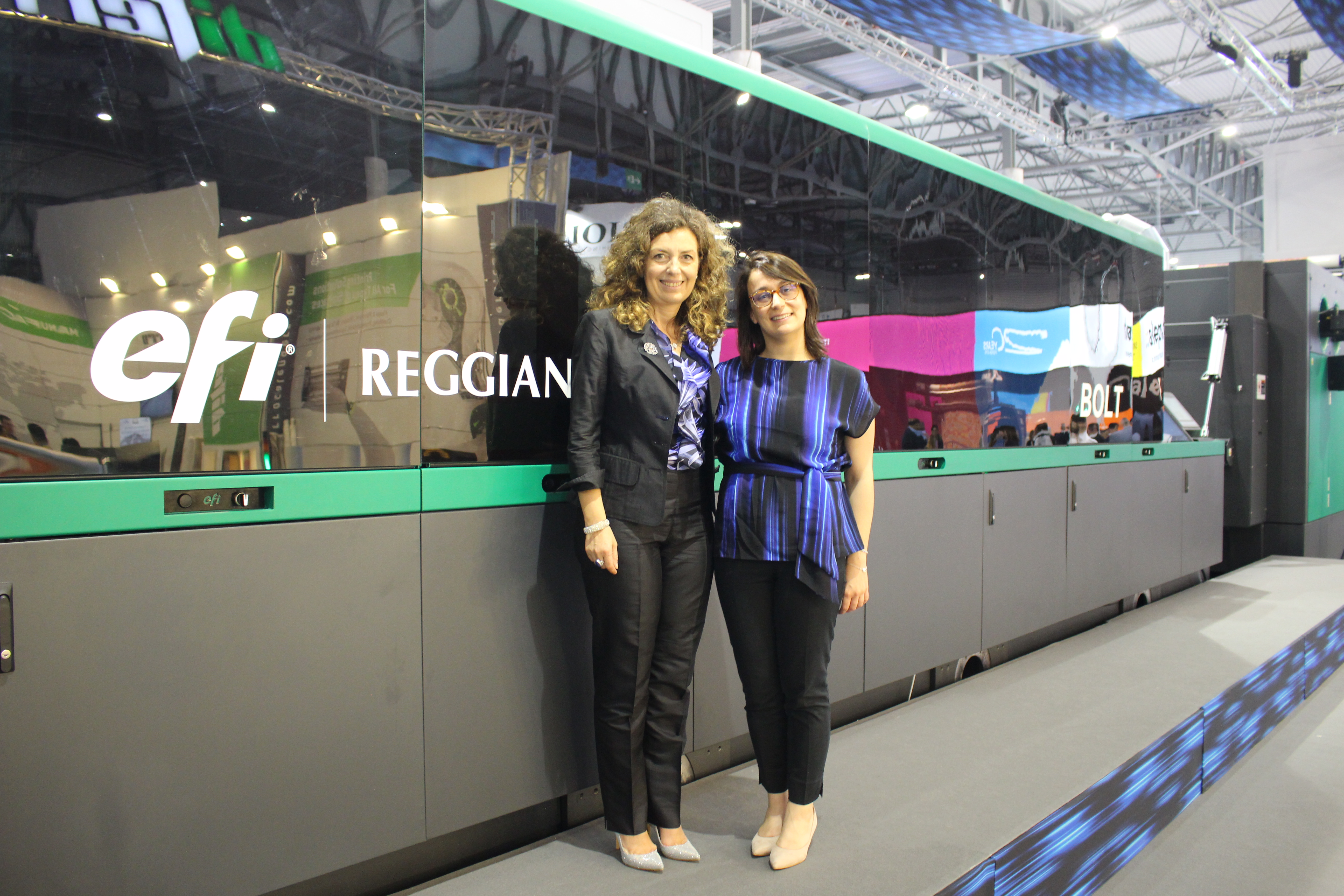 EFI Reggiani 4 Tane BOLT Single-Pass Baskı Makinesi Sattı