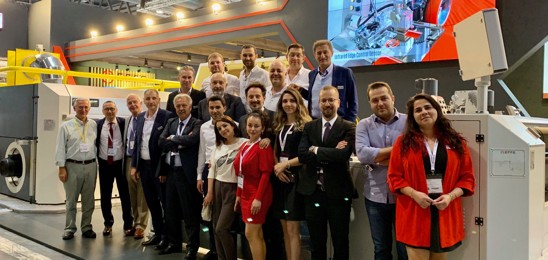 Effe Endustri Receives Great Interest at ITMA 2019 with PASHA Stenter
