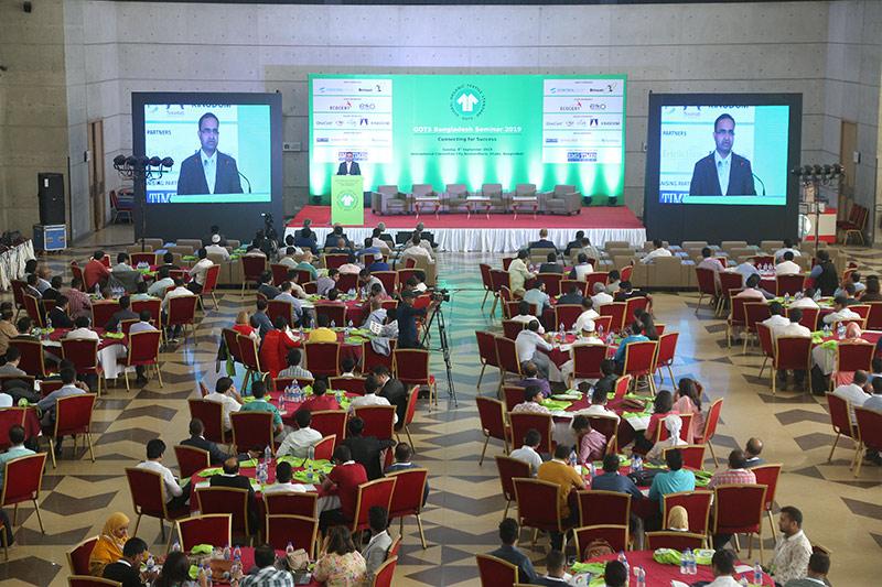 Supply Chain Actors connected at the GOTS Bangladesh Seminar 2019