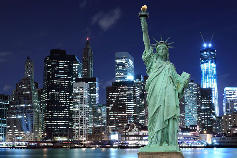 The Continent Where the Dreams Become Freedom: America