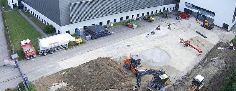 Stoll Yeni Şirket Binasının Temelini Attı
