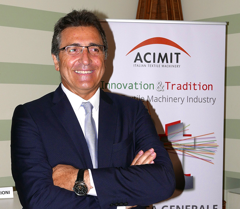 ACIMIT: On the Topic of Sustainability, Italian Textile Machinery Manufacturers are in the Front Row