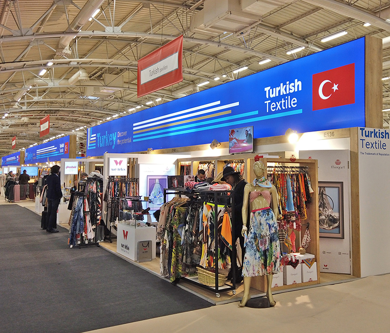 TEXWORLD Paris Fuarı'nda We Teks Rüzgârı