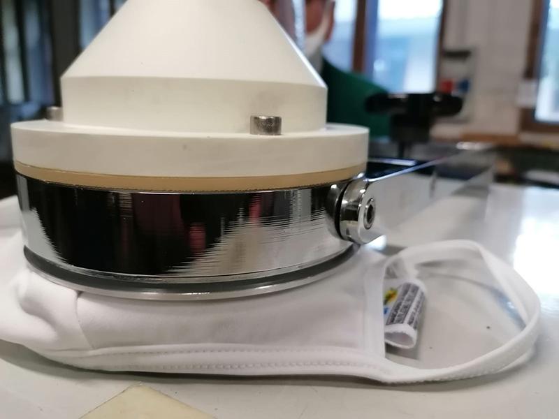 Mesdan'dan Tıbbi Yüz Maskesi Testi için Diferansiyel Basınç Test Cihazı