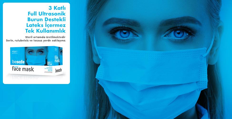 Güney Biomedical Avrupa Standartlarında Maske Üretimi Gerçekleştiriyor