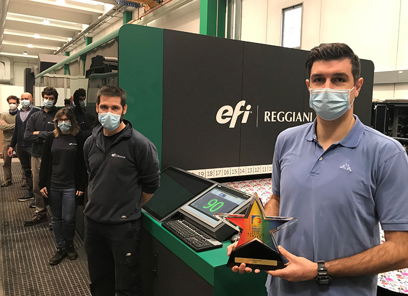 EFI Reggiani Bolt, InterTech Teknoloji Ödülü Aldı