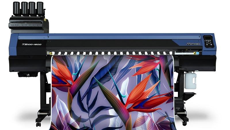 Mimaki'den 100 Serisi'nin Yenisi TS100-1600 Tekstil Baskı Makinesi