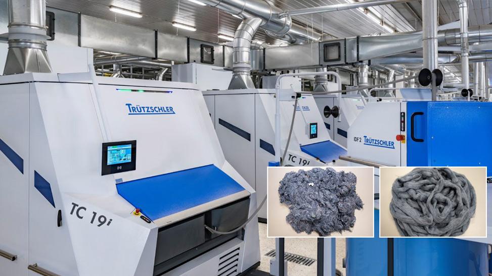 Trützschler'den Sürdürülebilirlik İçin Yeni Çözüm: TC 19i for Recycling