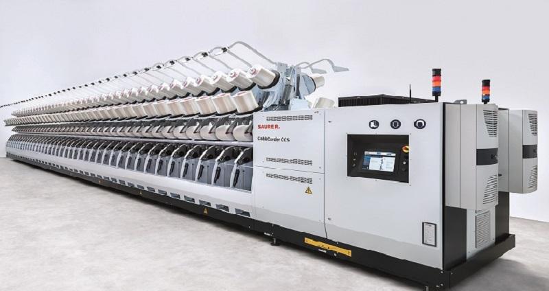 Saurer, Otomasyon Yeniliklerini ITMA Asia + Citme'de Sergileyecek