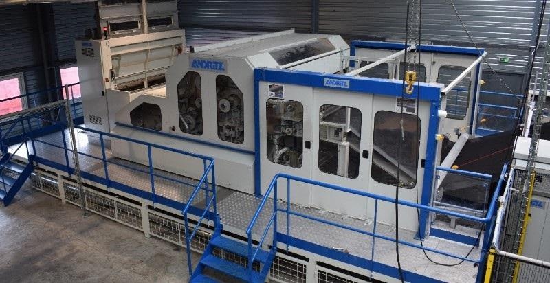 Andritz, Güney Afrika ve İtalya'da Yeni Dolgu Malzemesi Üretim Hattı Kurdu