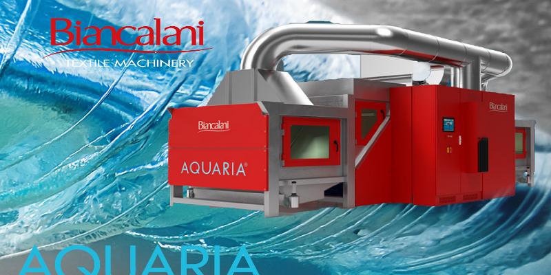 AQUARIA® Kontinü, Açık En Yıkama Makinesi Kumaşa Değer Katıyor