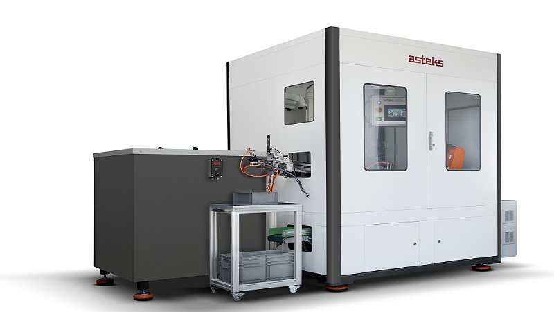 Asteks'ten Yeni Manşon Rektefiye Makinesi: 401-SF&M