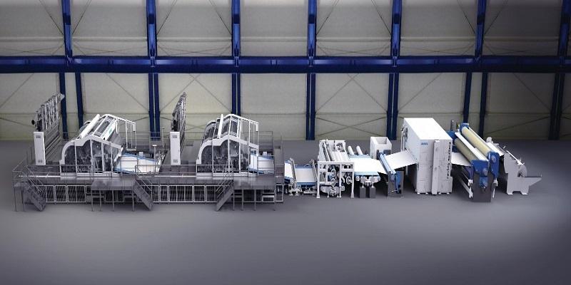 Andritz'ten Çinli Firmaya İkinci Yüksek Hızlı Spunlace Hattı