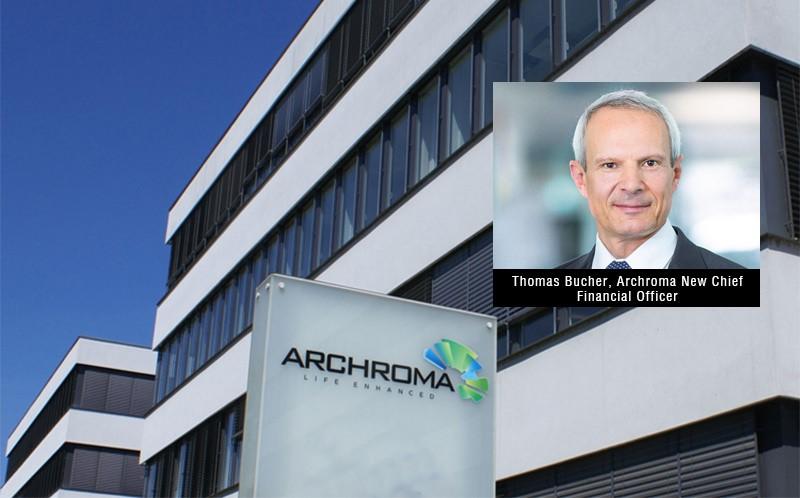 Archroma'da Yeni Mali İşler Müdürü Thomas Bucher Oldu